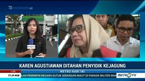 Ini Alasan Kejagung Tahan Eks Dirut Pertamina Karen Agustiawan