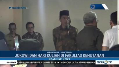 Jokowi Melayat ke Rumah Duka Adik Iparnya