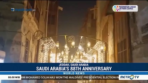 Saudi Arabia's 88th Anniversary