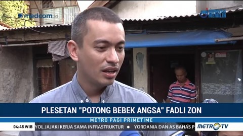 PSI akan Polisikan Fadli Zon Terkait Plesetan Lagu Potong Bebek Angsa