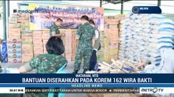 Paguyuban Taruna Nusantara Kirim Sembako ke Lombok