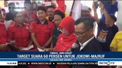 Jokowi-Ma'ruf Ditargetkan Raih 60 Persen Suara di Cimahi