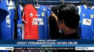 Jersey Perdamaian Suporter Persib-Persija