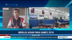 Persiapan Atlet Tenis Meja Jelang Asian Para Games
