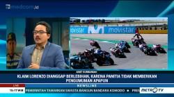 Klaim Lorenzo Jatuh Akibat Marquez Dinilai Berlebihan