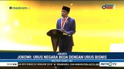 Jokowi di Hadapan Sandi: Kelola Negara Beda dengan Bisnis