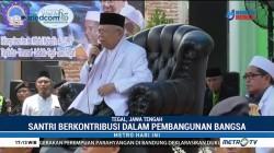 Ma'ruf Amin Hadiri Harlah ke-67 Ponpes Miftahul Mubtadiin