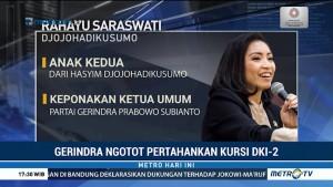 Sara Djojohadikusumo Masuk Bursa Kandidat Wagub DKI