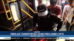 Melihat Simulasi Transportasi Asian Para Games 2018