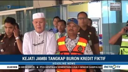 Usai Ibadah Haji, Buronan Kasus Kredit Fiktif Ditangkap Kejati Jambi