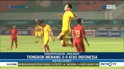 Timnas Indonesia U-19 Kalah 0-3 dari Tiongkok