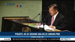 Pidato Jusuf Kalla di Sidang Majelis Umum PBB