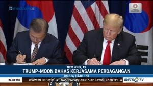 Presiden AS dan Korsel Bahas Kerja Sama Perdagangan