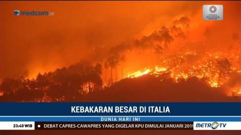 700 Warga Harus Dievakuasi Akibat Kebakaran di Italia