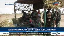 Korps Arhanud Uji Coba Empat Rudal Jenis Terbaru