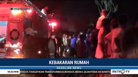 Kebakaran Hanguskan Rumah Warga di Bontomanai