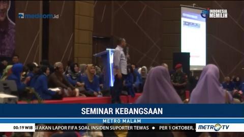 Kampanyekan Sandiaga di Seminar, Zulkifli Hasan Disoraki