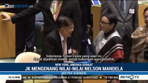 Pesan Perdamaian JK di Sidang Umum PBB