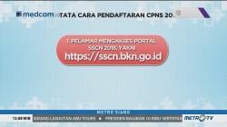 Begini Tata Cara Pendaftaran CPNS 2018
