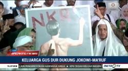 Keluarga Gus Dur Deklarasi Dukung Jokowi-Ma'ruf