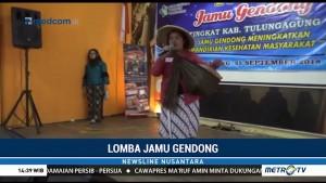 Lestarikan Obat Tradisional dengan Lomba Jamu Gendong
