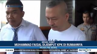 Ketua Fraksi Golkar DPRD Sumut Dijemput Paksa KPK