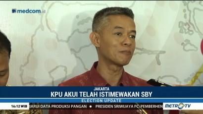 KPU Heran SBY <i>Walk Out</i> saat Deklarasi Kampanye Damai