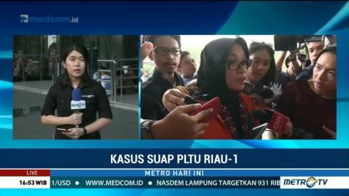 Eni Saragih Sebut Pimpinan Partai Minta Kawal Proyek PLTU Riau-1