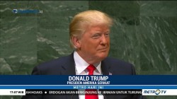 Pidato Trump Disambut Tawa Peserta Sidang Tahunan PBB
