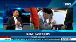 Survei Indikator Politik: Sandiaga Lebih Unggul dari Ma'ruf Amin