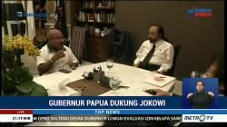 Temui Surya Paloh, Gubernur Papua Pastikan Dukung Jokowi-Ma'ruf