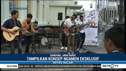 The Papandayan Jazz Festival Angkat Konsep <i>Ngamen</i> Eksklusif