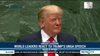 World Leaders React to Trump's UNGA Speech