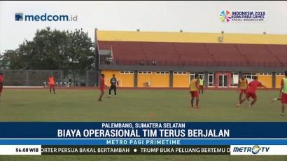 Sriwijaya FC Rasakan Dampak Negatif Terkait Penghentian Liga 1