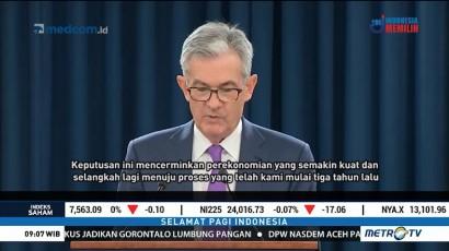 The Fed Kembali Naikkan Suku Bunga Acuan