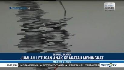 Status Gunung Anak Krakatau Waspada