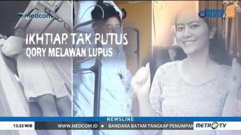 Ikhtiar Tak Putus Qory Melawan Lupus (1)