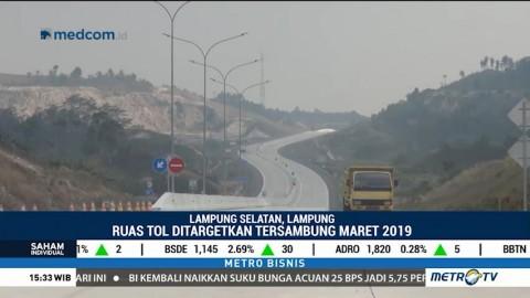 Proyek Tol Trans Sumatera Ditargetkan Rampung Maret 2019