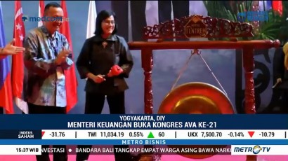 Sri Mulyani Buka Kongres Penilai Tingkat ASEAN di Yogyakarta