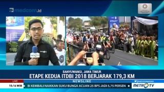 Etape Kedua ITdBI 2018 Dimenangkan Pembalap Indonesia