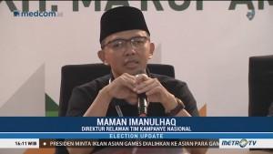 501 Organisasi Relawan Dukung Jokowi-Ma'ruf