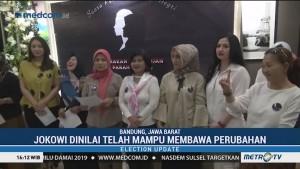 Dukungan untuk Jokowi-Ma'ruf Terus Mengalir dari Jabar