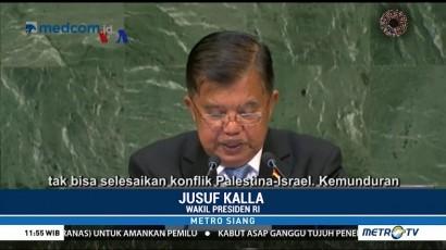 Indonesia Perjuangkan Palestina di Sidang Majelis Umum PBB