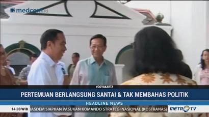 Jokowi Temui Sri Sultan HB X