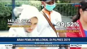 Mengurai Arah Pemilih Milenial di Pilpres 2019