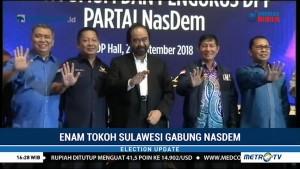 Enam Tokoh Asal Sulawesi Gabung NasDem