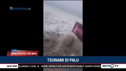 Tsunami Terjang Palu
