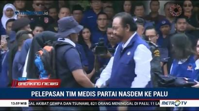 NasDem Kirimkan Relawan Medis ke Sulawesi Tengah