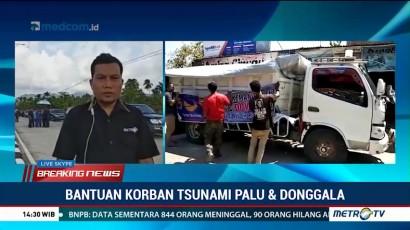 DPW NasDem Sulbar Kirim Bantuan ke Palu dan Donggala Lewat Jalur Darat