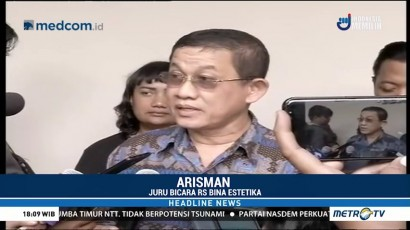 RS Bina Estetika Akui Ratna Sarumpaet Berobat 21 September